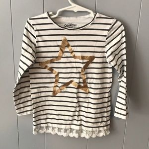 3/$10- Osh Kosh B'gosh shirt size 4t